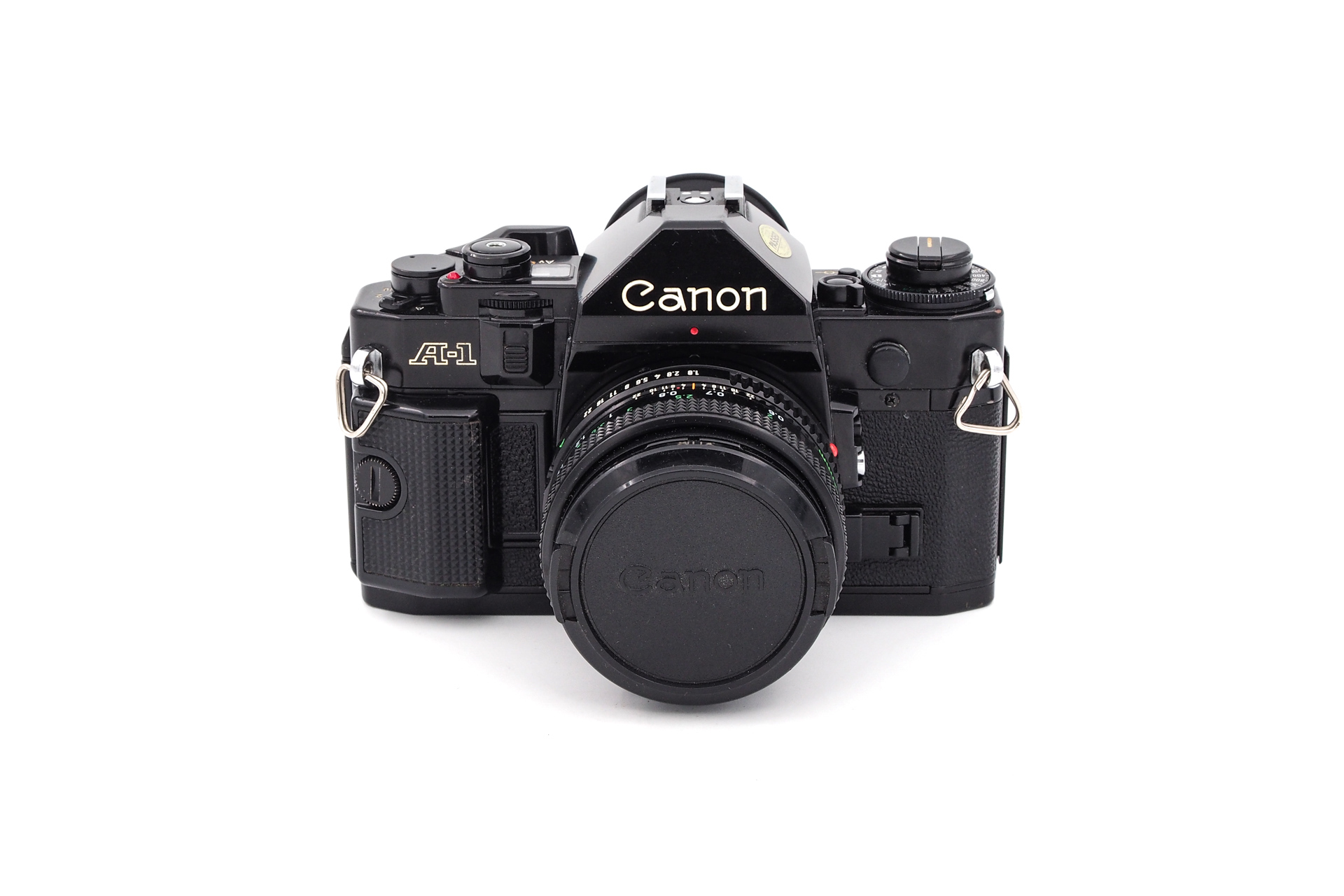 Canon A-1 + 50mm F/1.8
