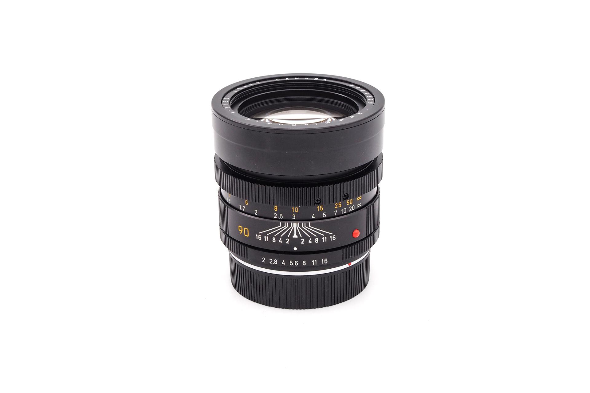 Leica Summicron-R 1:2/90 3-cam