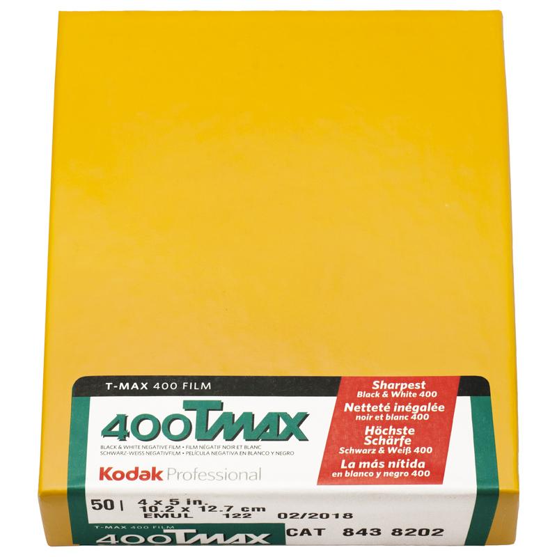 """Kodak Tmax 400 4x5"""""""