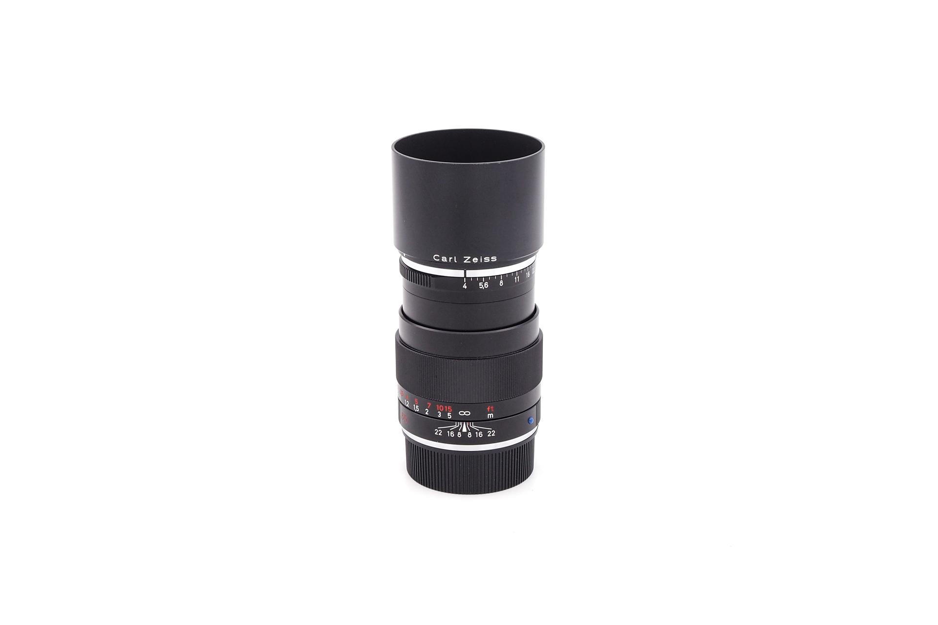 Carl Zeiss 85mm F/4  Tele-Tessar ZM