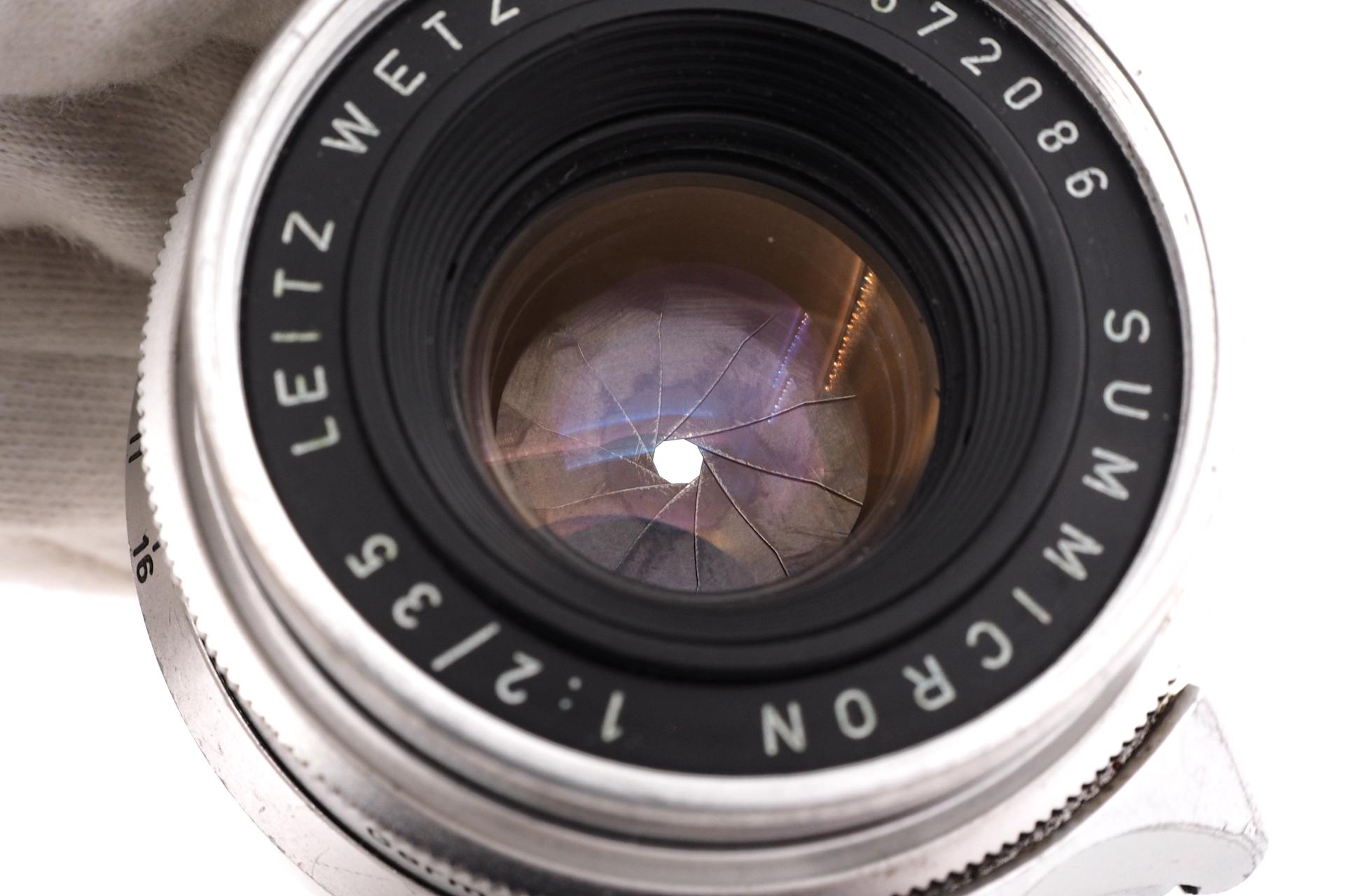 Leica Summicron 1:2/35 M39