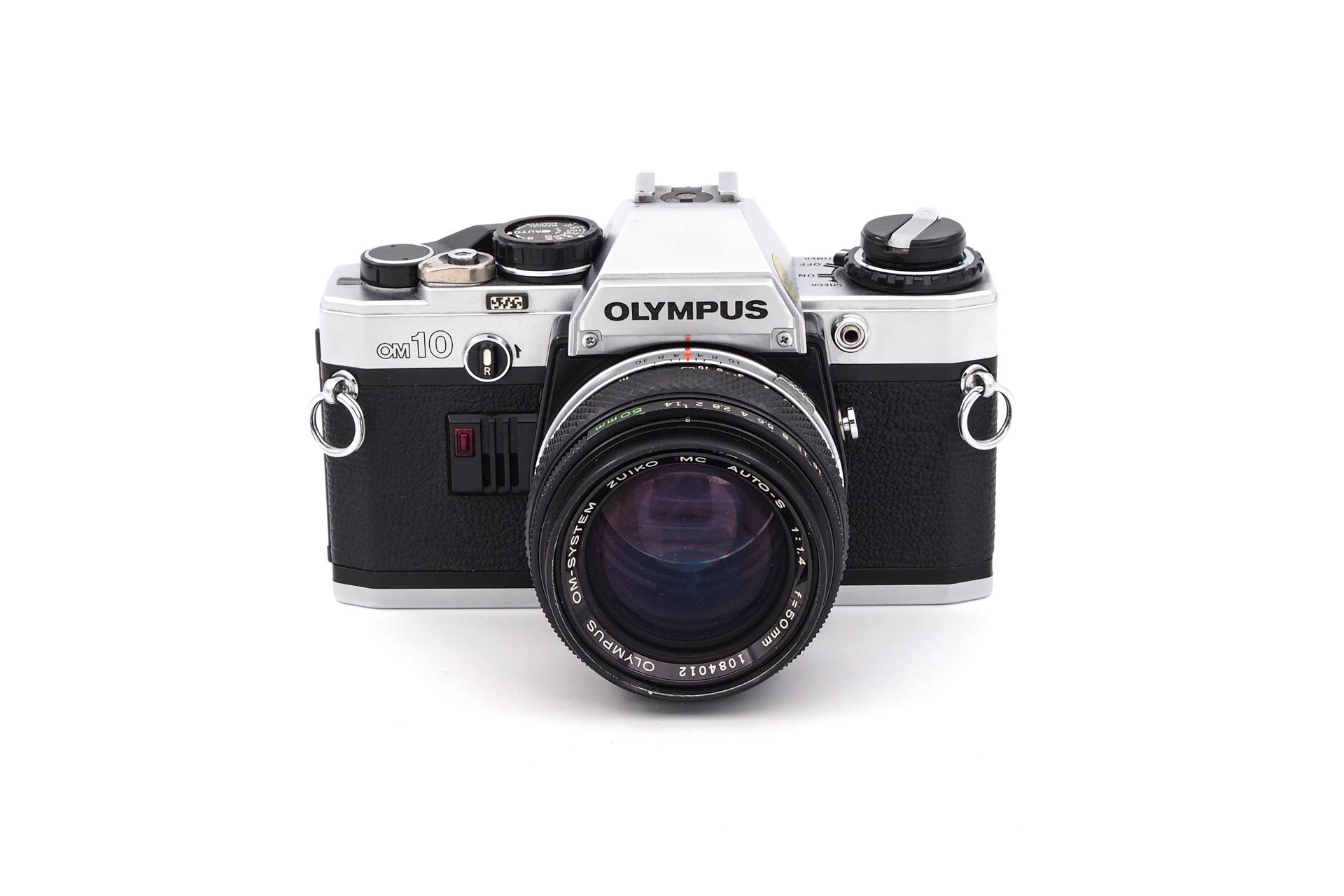 Olympus OM-10 + 50mm F/1.4