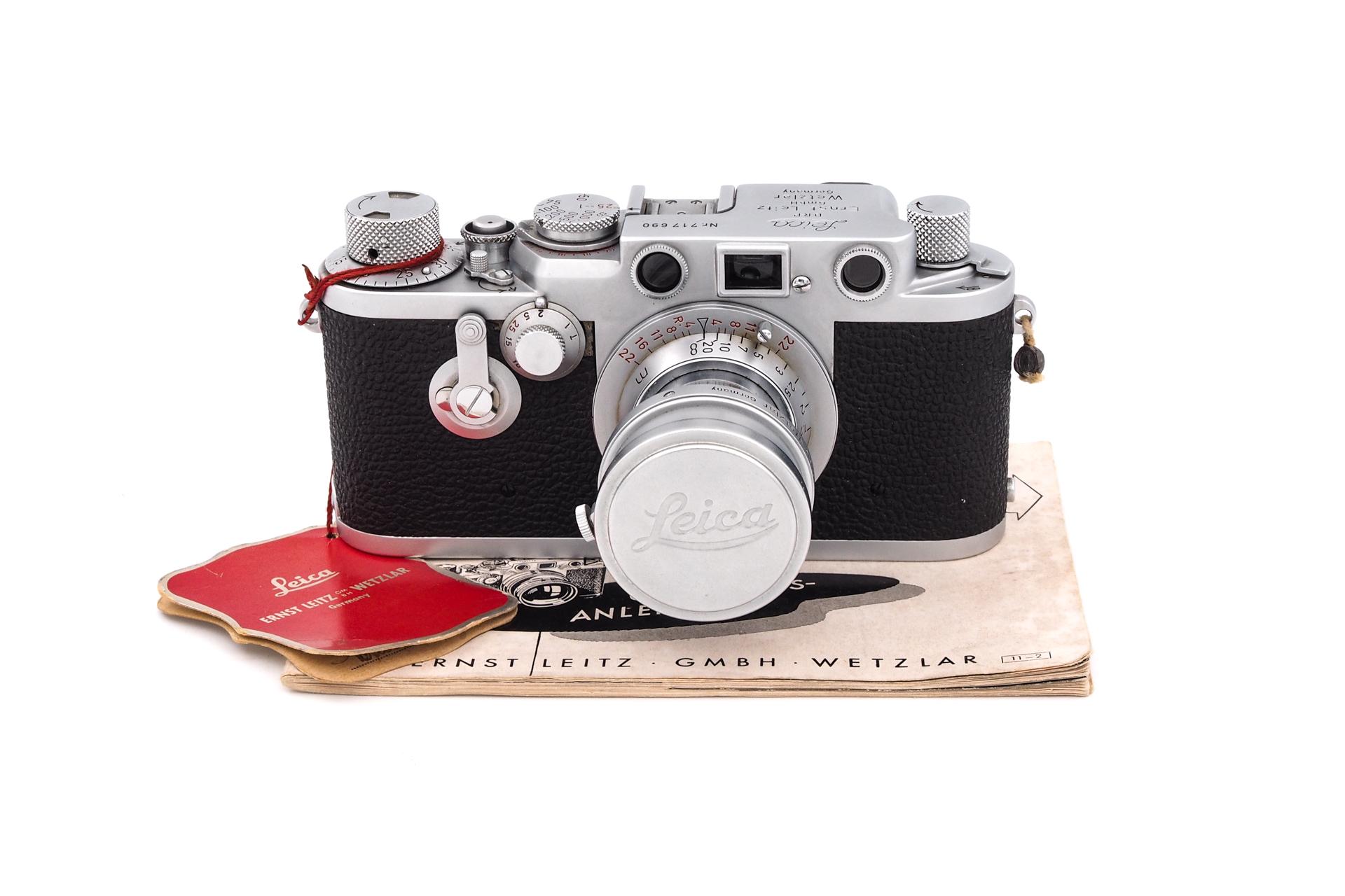 Leica IIIF + 5cm F/3.5 Red Scale Elmar