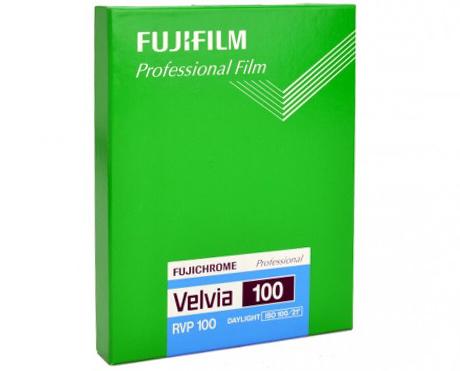 "Fujifilm Velvia 100 4x5"""