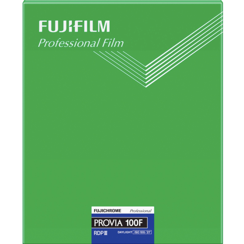 "Fujifilm Provia 100F 8x10"""