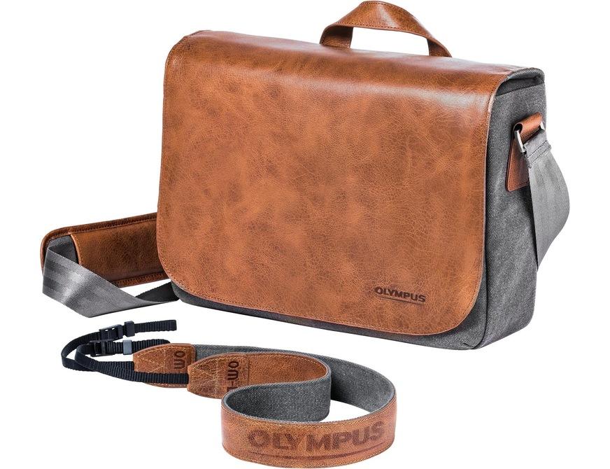 Olympus OM-D Premium Leather Camera Bag