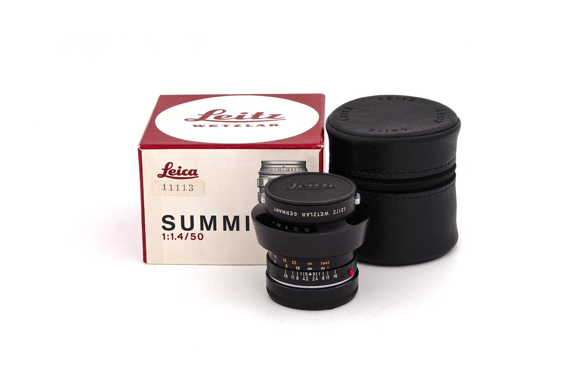 Leica 50mm F/1.4 Summilux-M