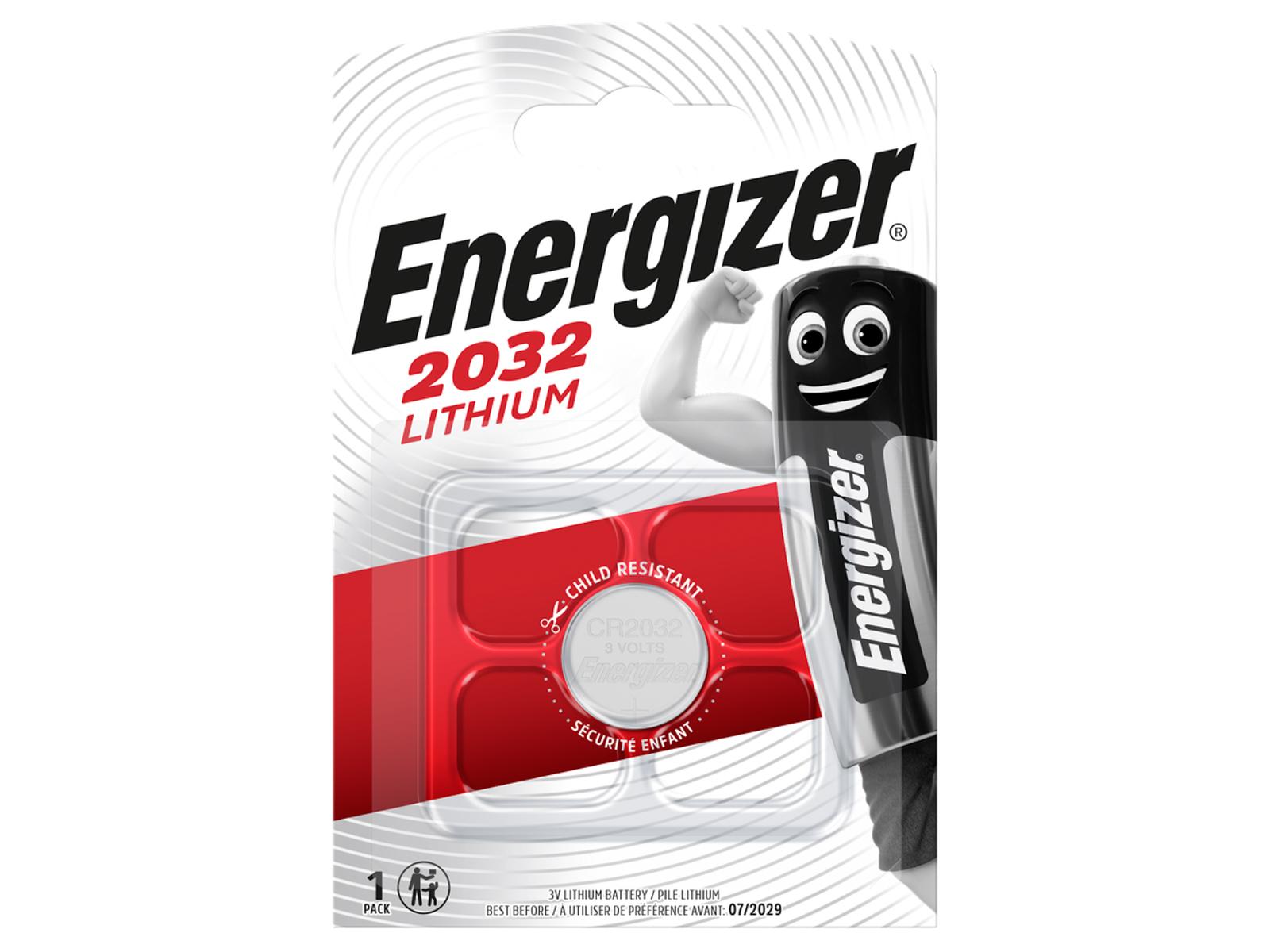 Energizer CR 2032 Lithium 3.0V