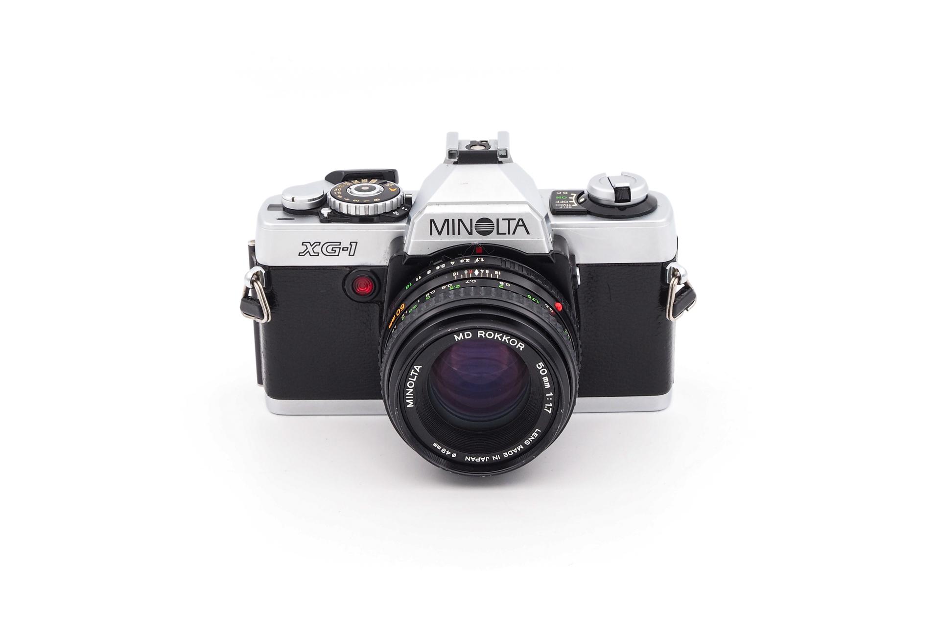 Minolta XG-1 + 50mm F/1.7