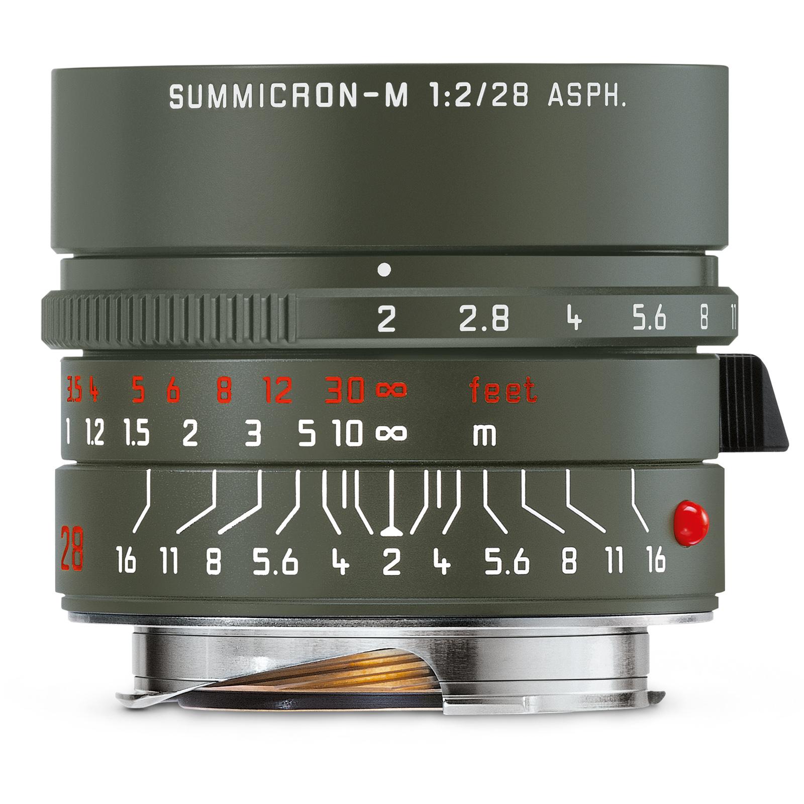 Leica Summicron-M 1:2.0/28 ASPH Edition Safari