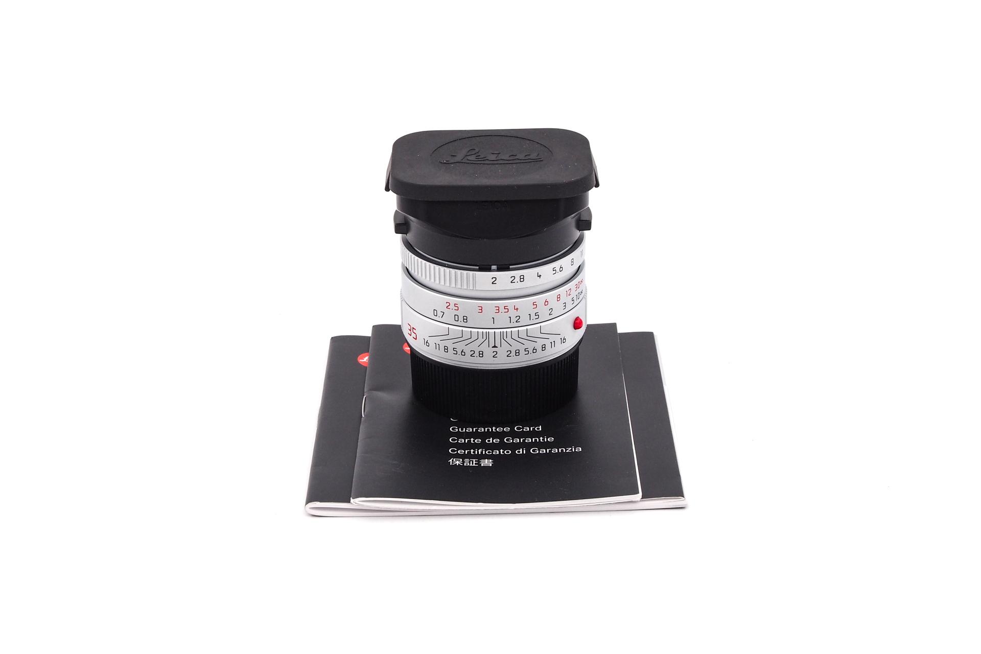 Leica Summicron-M 1:2/35mm asph. I chrom