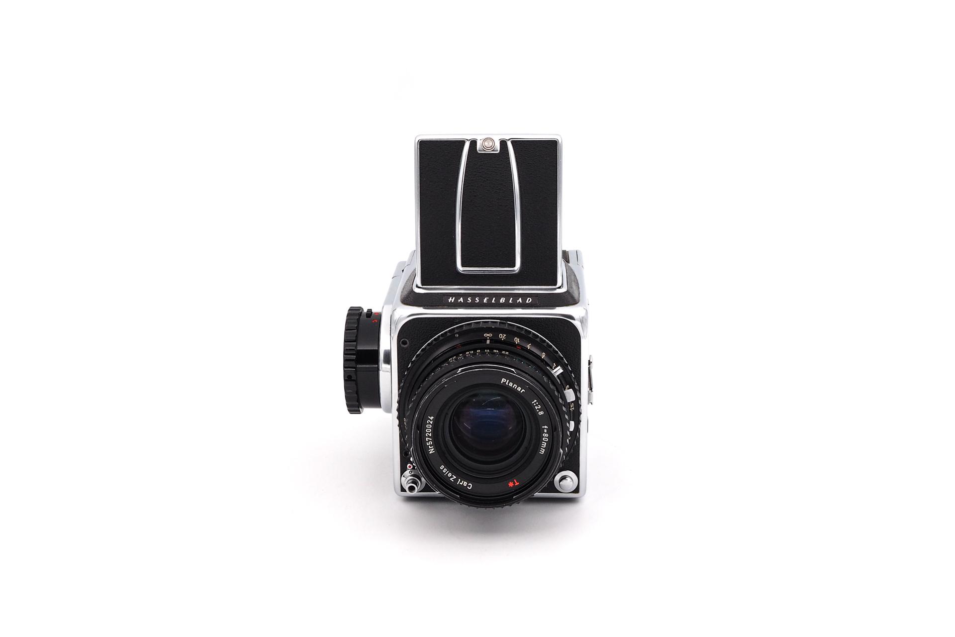 Hasselblad 500C + 80mm F/2.8 + A12 Magazin