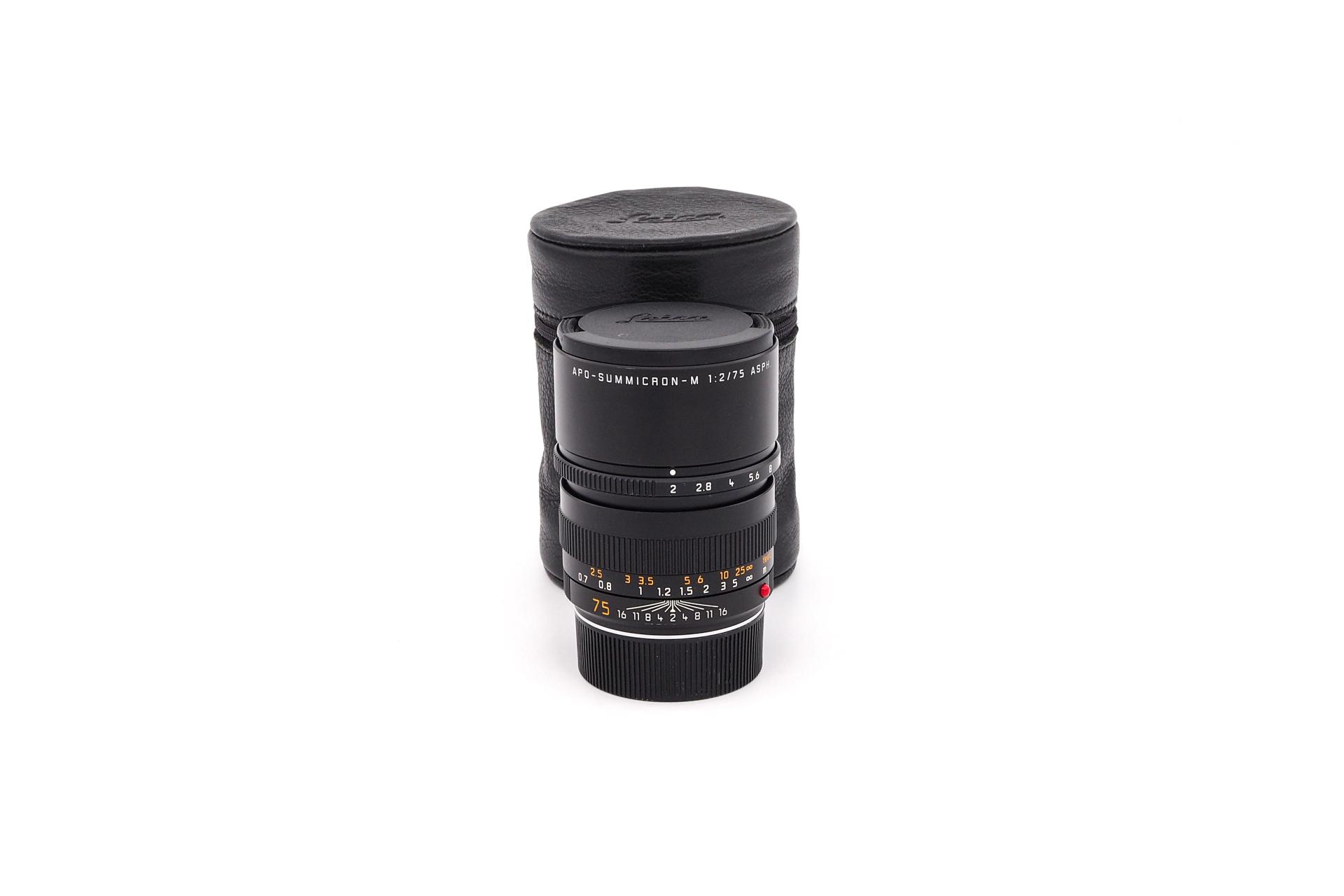 Leica APO-Summicron-M 1:2/75 Asph