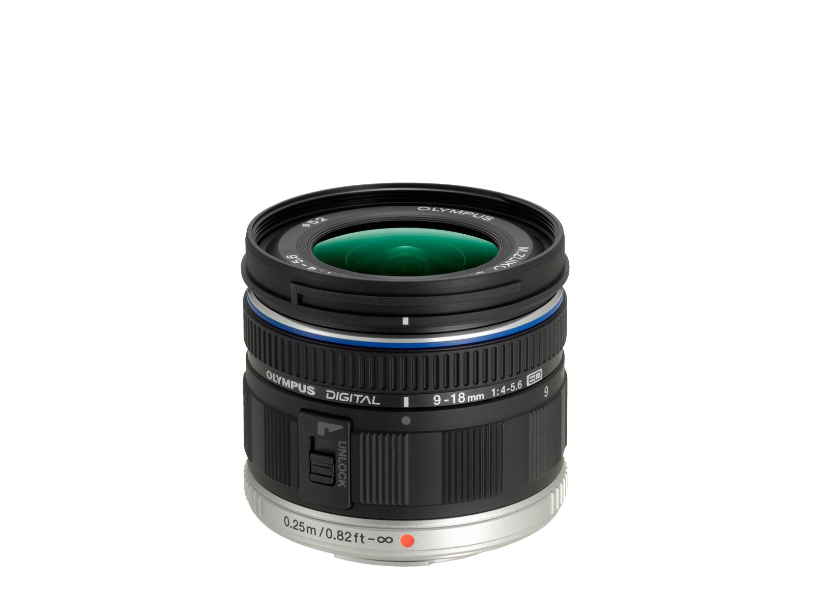 Olympus M.Zuiko ED 9‑18mm F4‑5.6