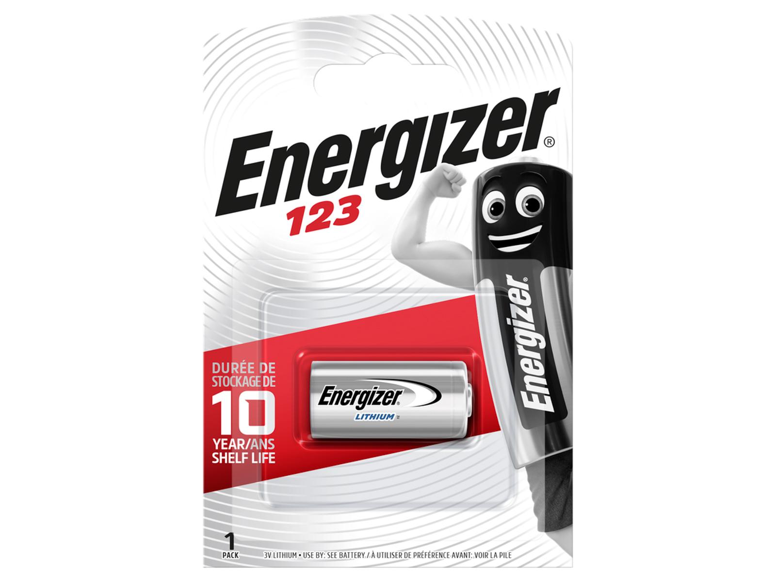 Energizer 123 Lithium 3.0V