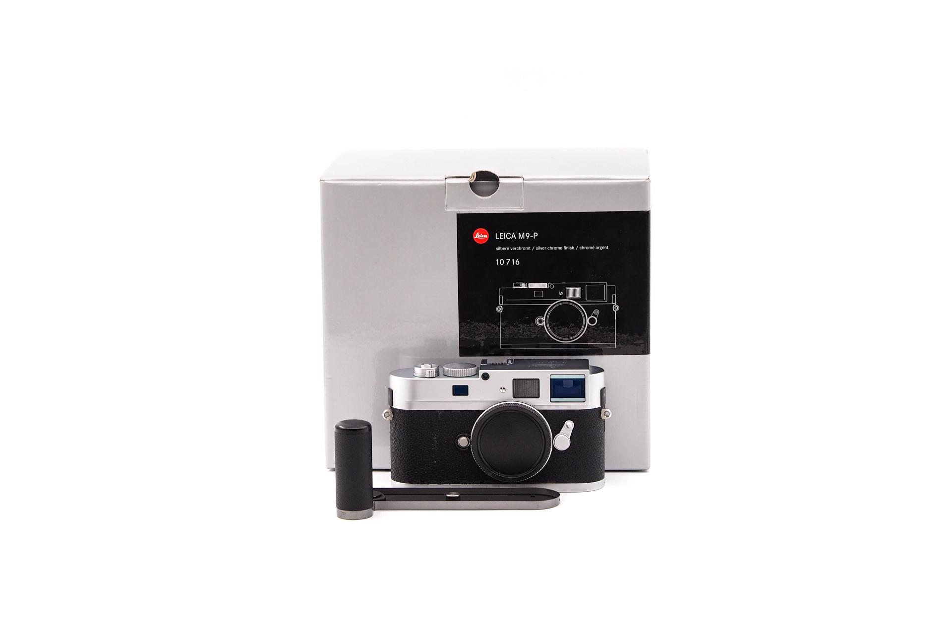 Leica M9-P silber