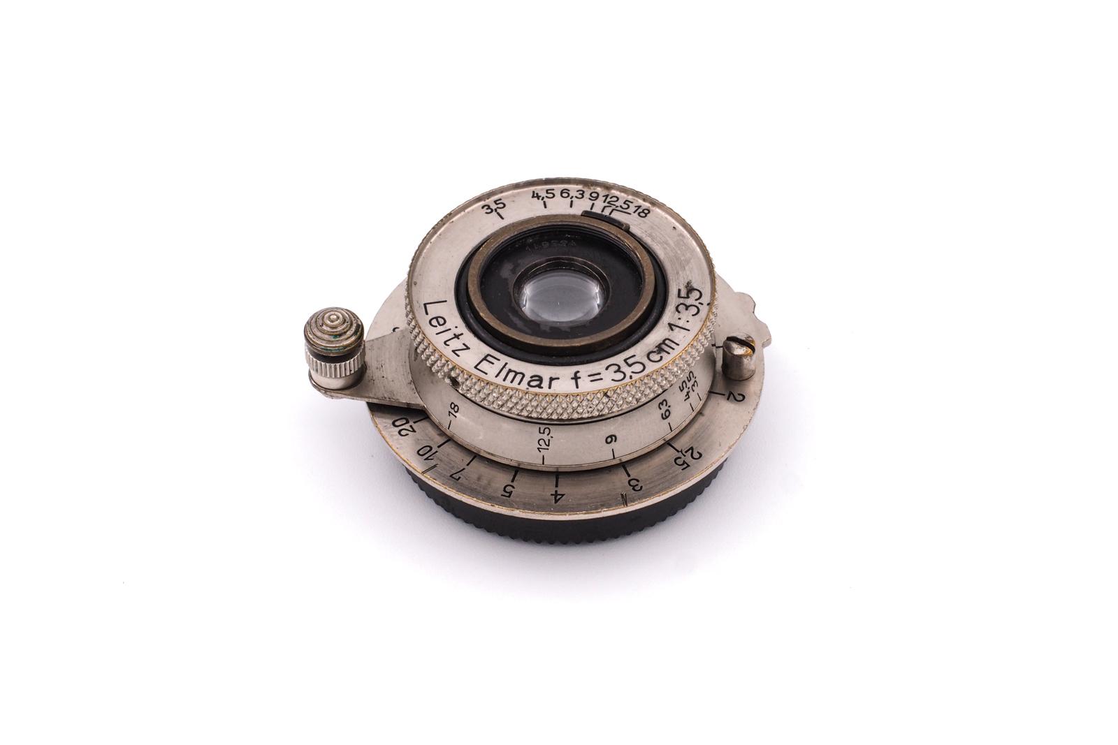 "Leitz Elmar 1:3.5/3.5cm nickel ""heavy cam"""