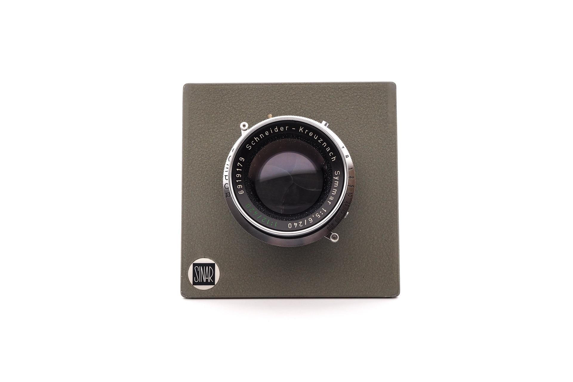 Sinar Plate Schneider 240mm F/5.6 Compur shutter