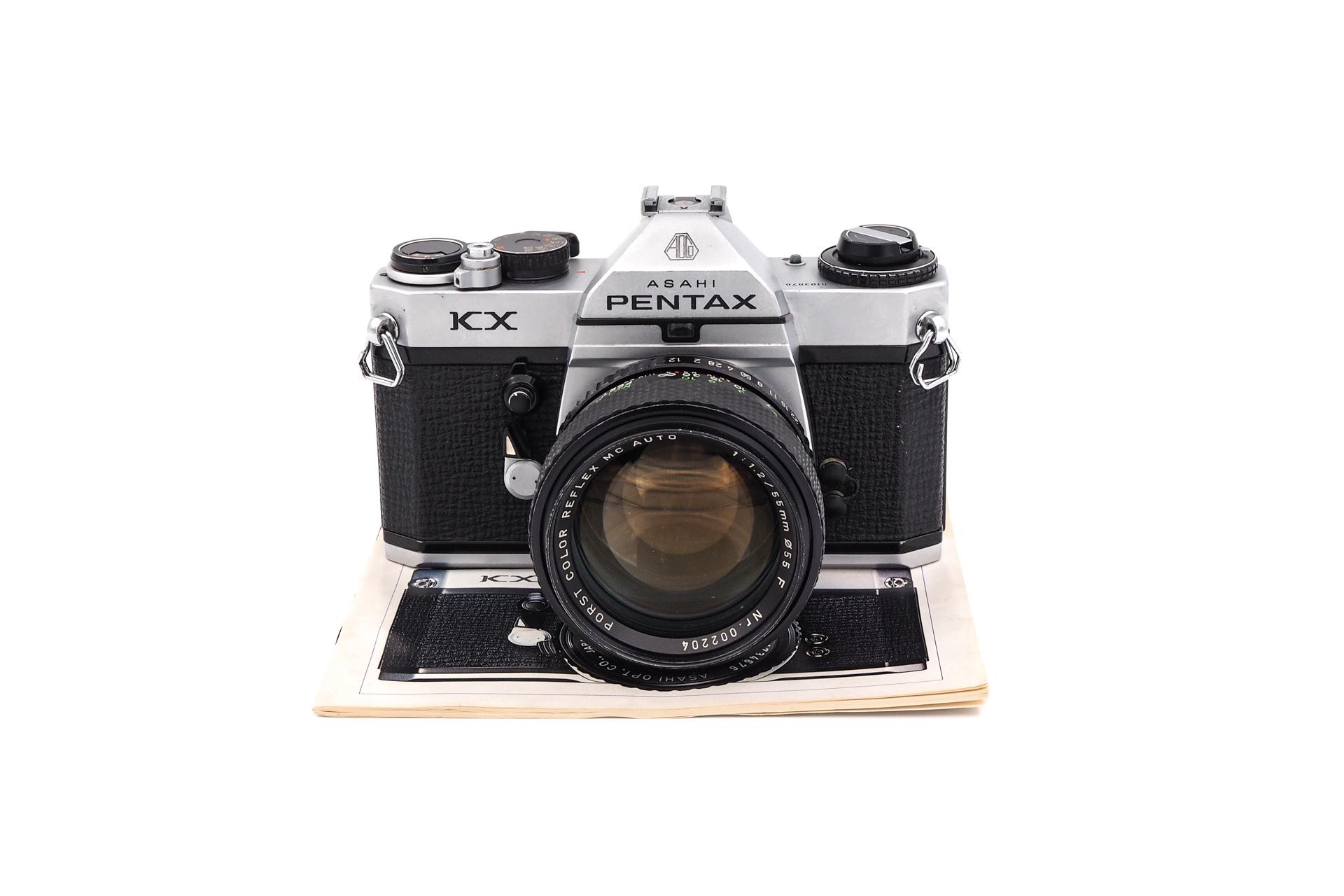 Pentax KX + Porst 55mm F/1.2
