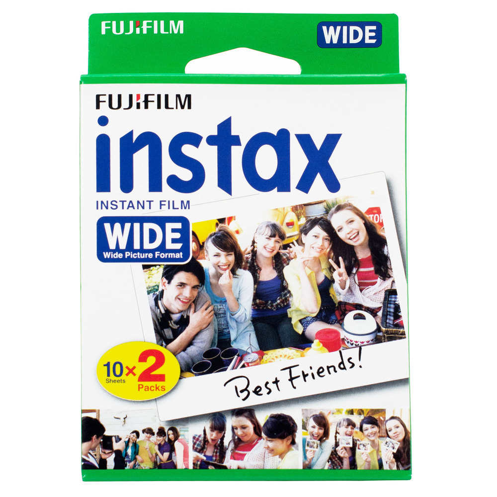 Fujifilm Instax Color WIDE 2 x 10 Blatt