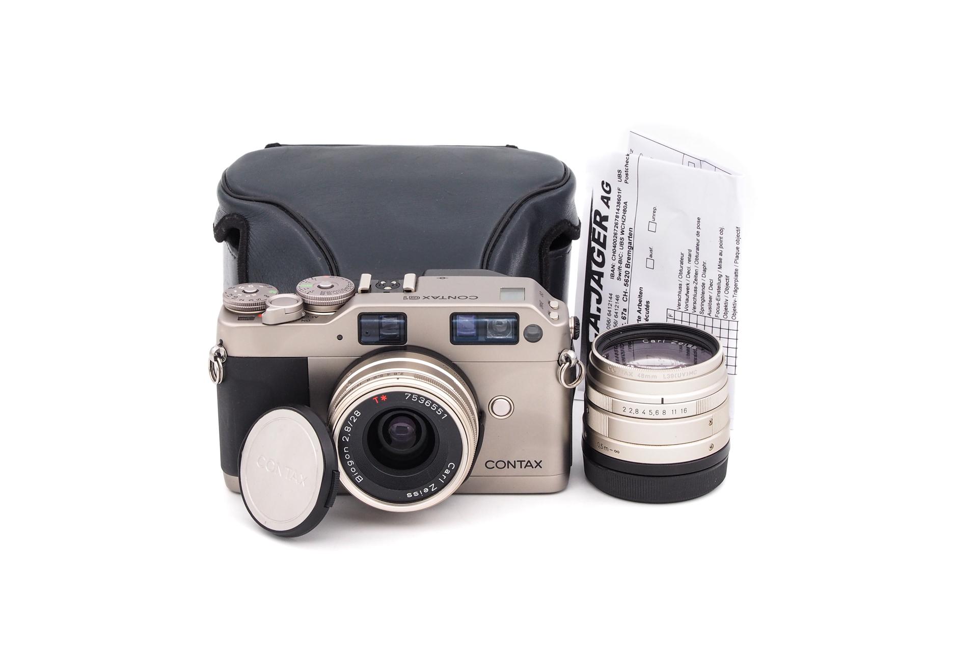 Contax G1 + 45mm F/2 + 28mm F/2.8 + Flash