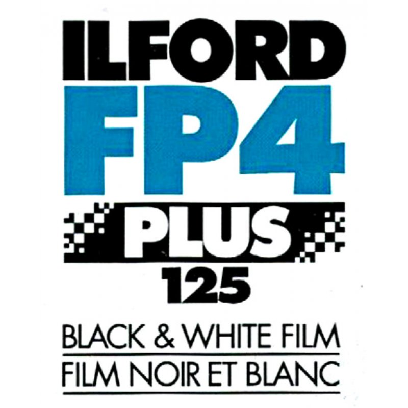 "Ilford FP4 125 4x5"""