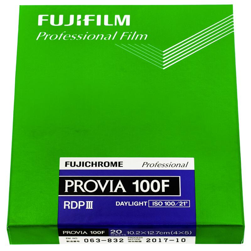 "Fujifilm Provia 100F 4x5"""