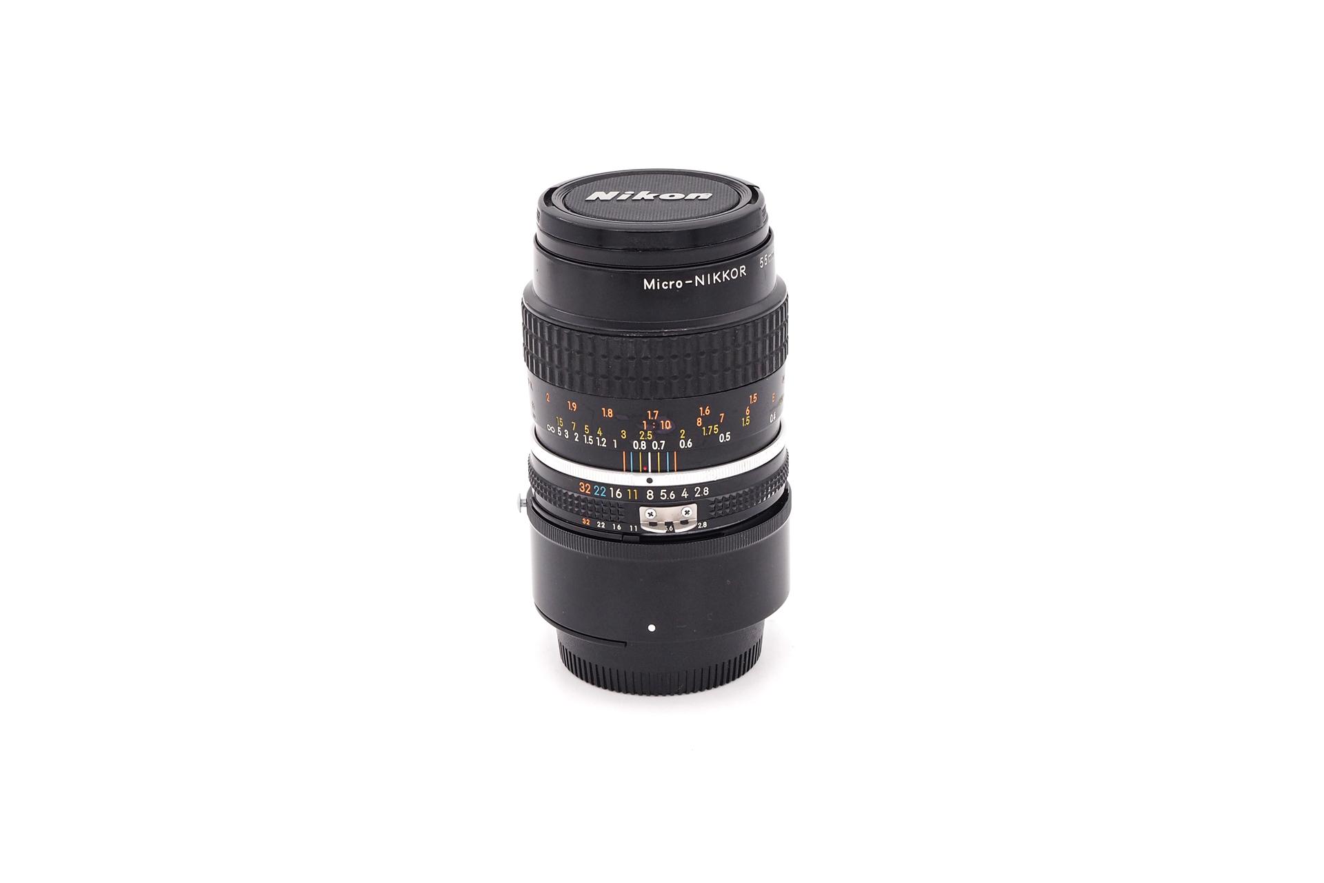 Nikon AI-S 55mm F/2.8 Micro-Nikkor