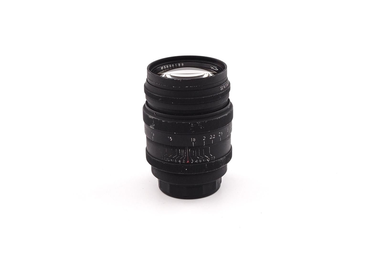 KMZ Jupiter-9 1:2/85mm