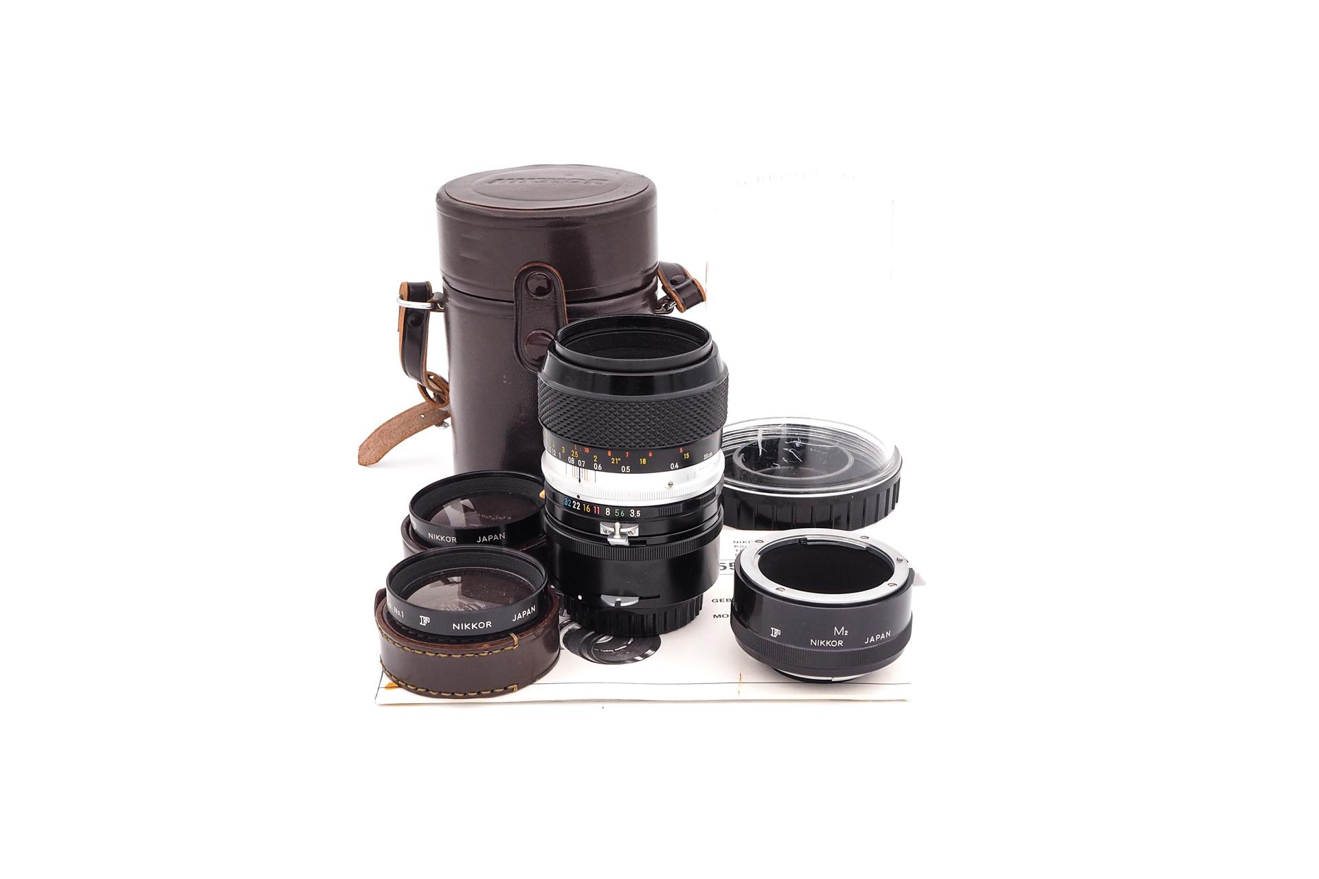 Nikon 55mm F/3.5 Micro NON-AI