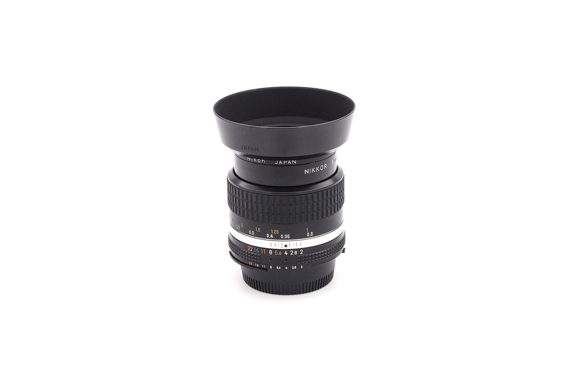 Nikon Ai-S 35mm F/2