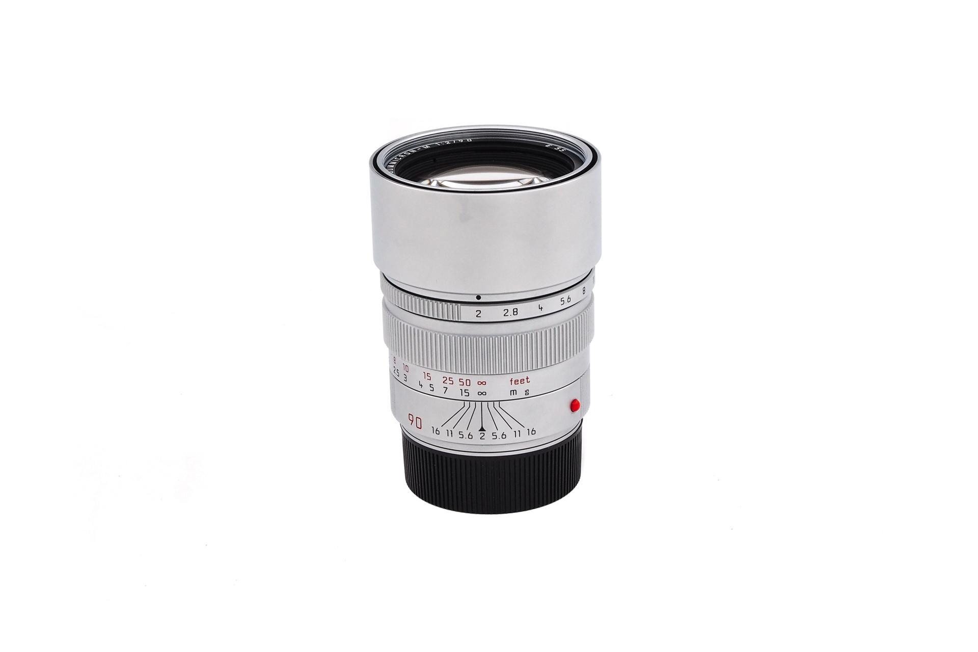 Leica Summicron-M 1:2/90 chrom