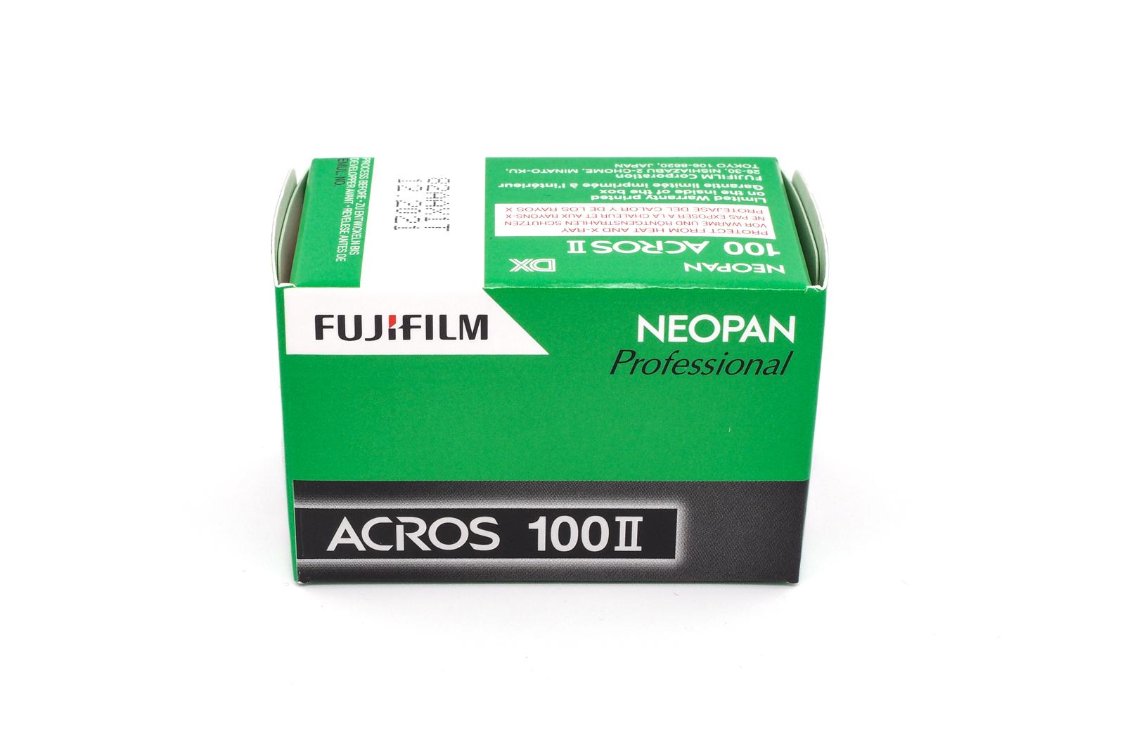 Fujifilm Neopan Acros 100 II