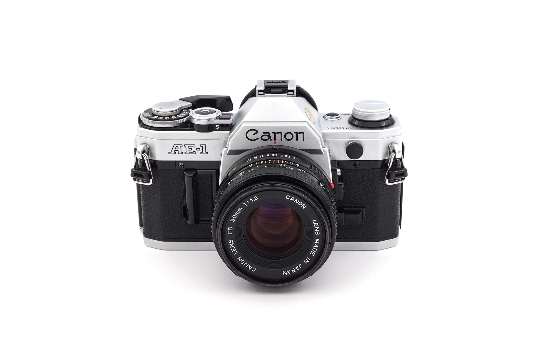 Canon AE-1 + 50mm F/1.8