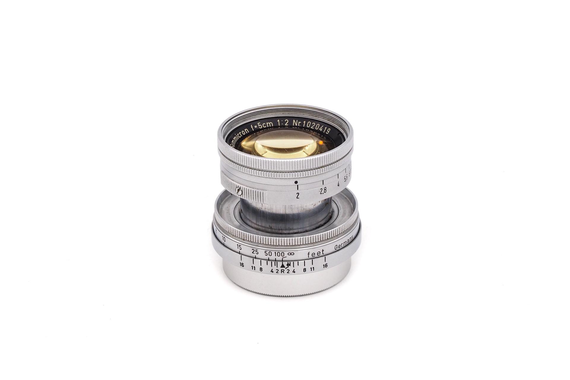 Leica Summicron 1:2/50mm M39 Radioactive