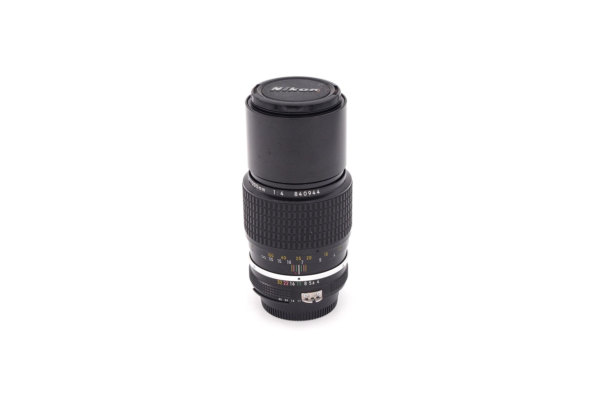 Nikon AI 200mm F/4