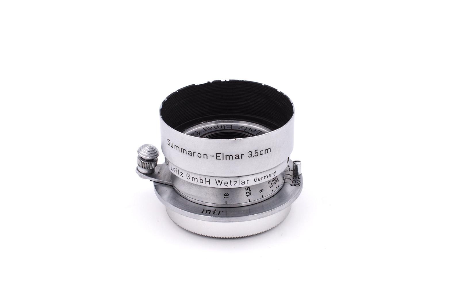 Leitz Elmar 1:3.5/3.5cm chrome