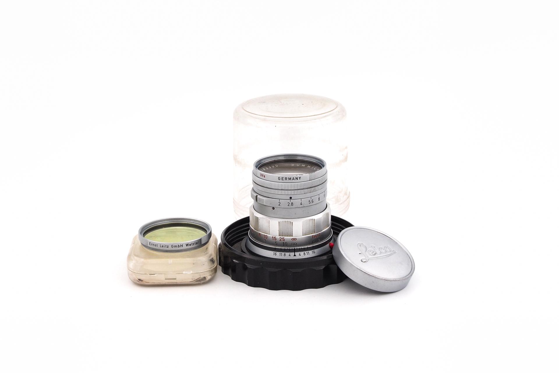 Leica Summicron 1:2/50mm starr