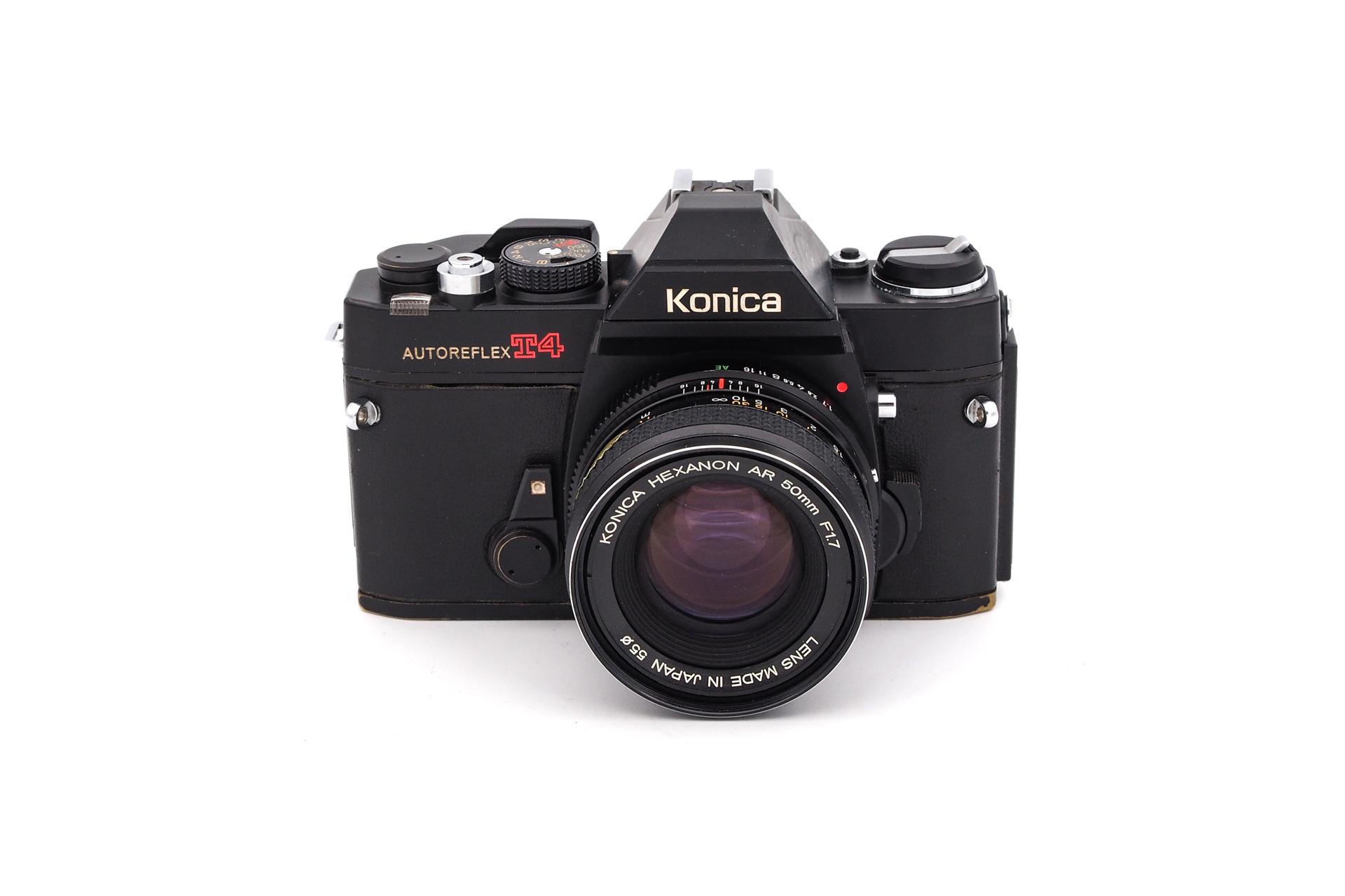 Konica Autoreflex T4 + 50mm F/1.7