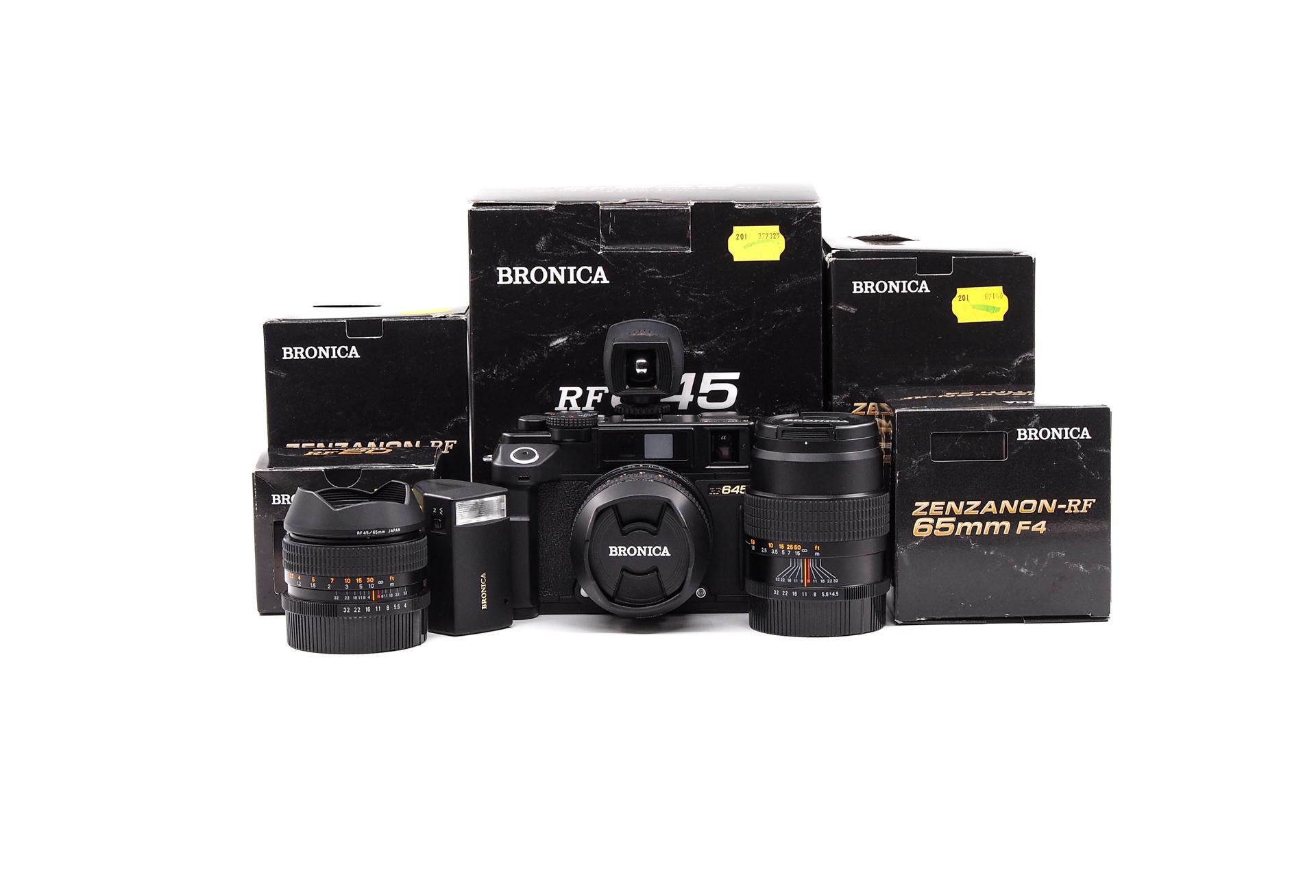 Bronica RF645 Full Set