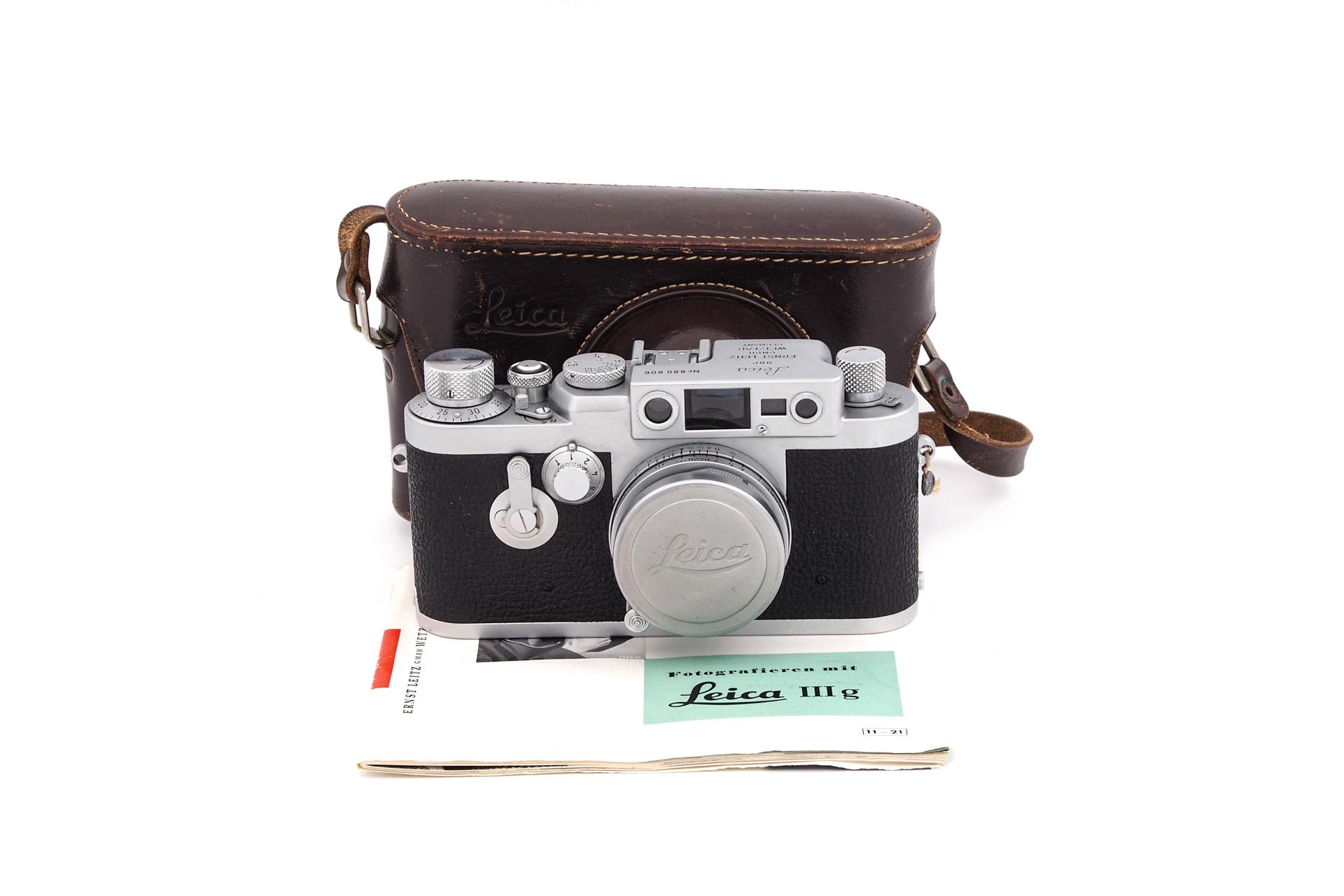 Leica IIIg + 50mm F/2.8 M39