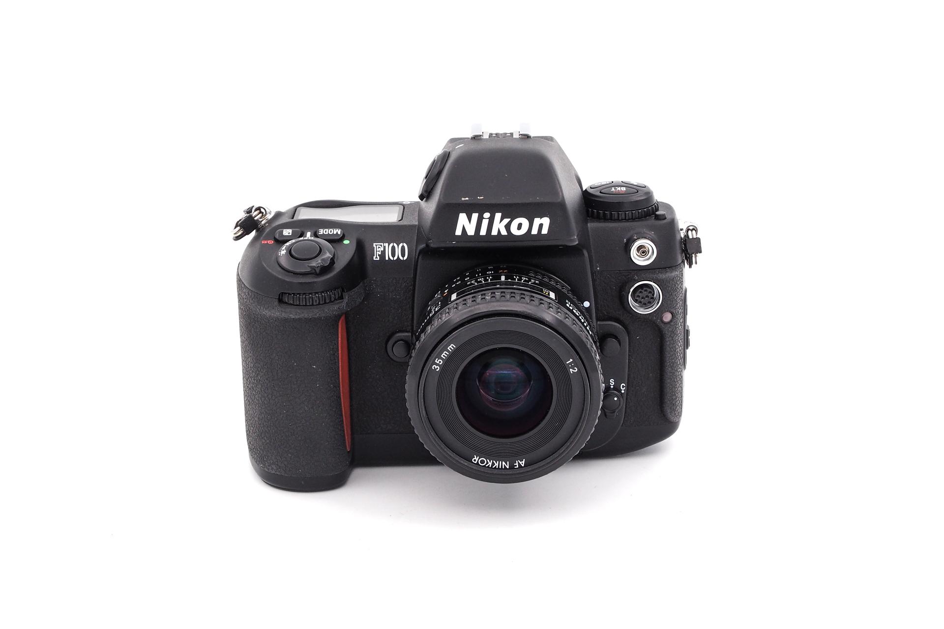 Nikon F100 + 35mm F/2