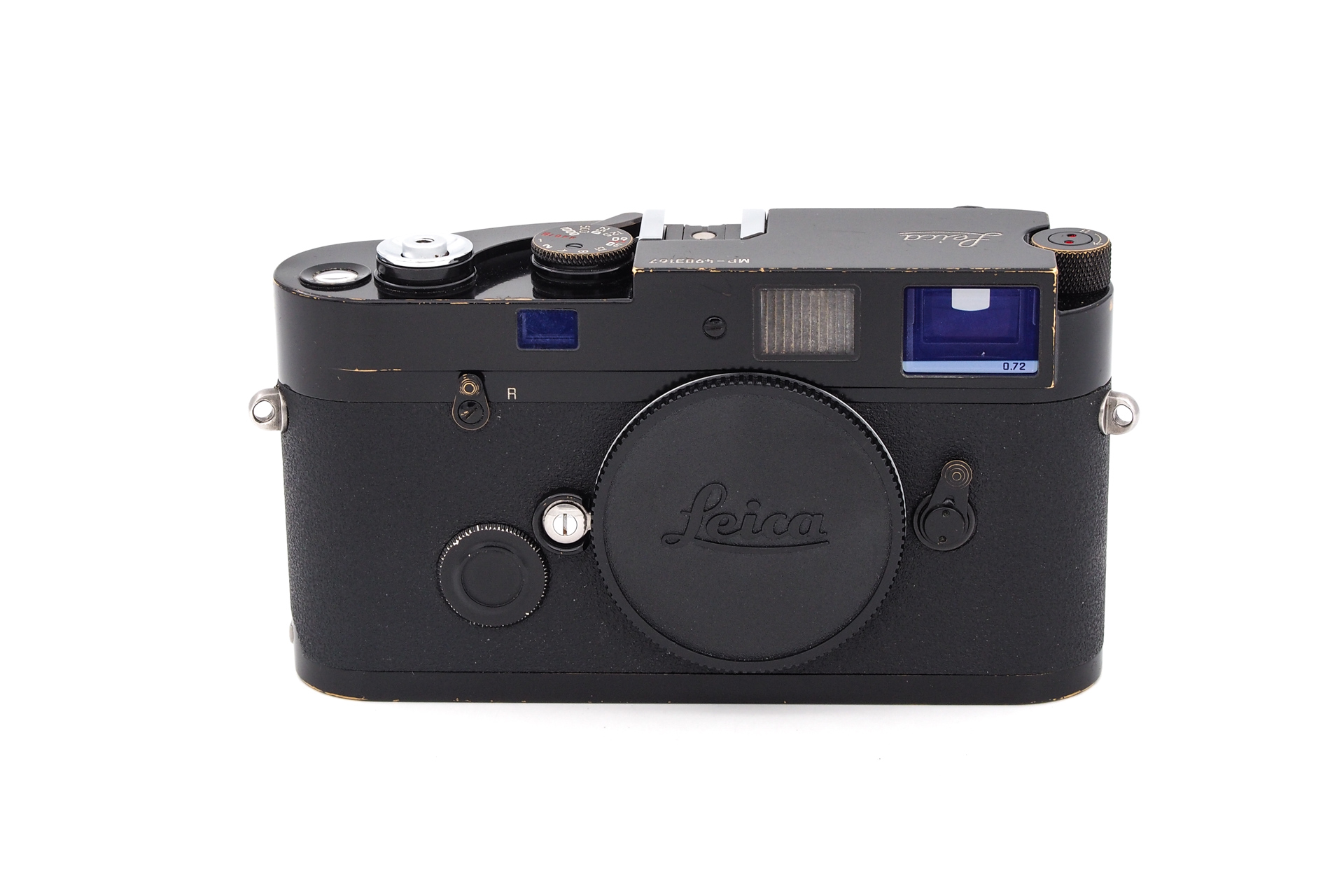 Leica MP 0.72 schwarz lackiert