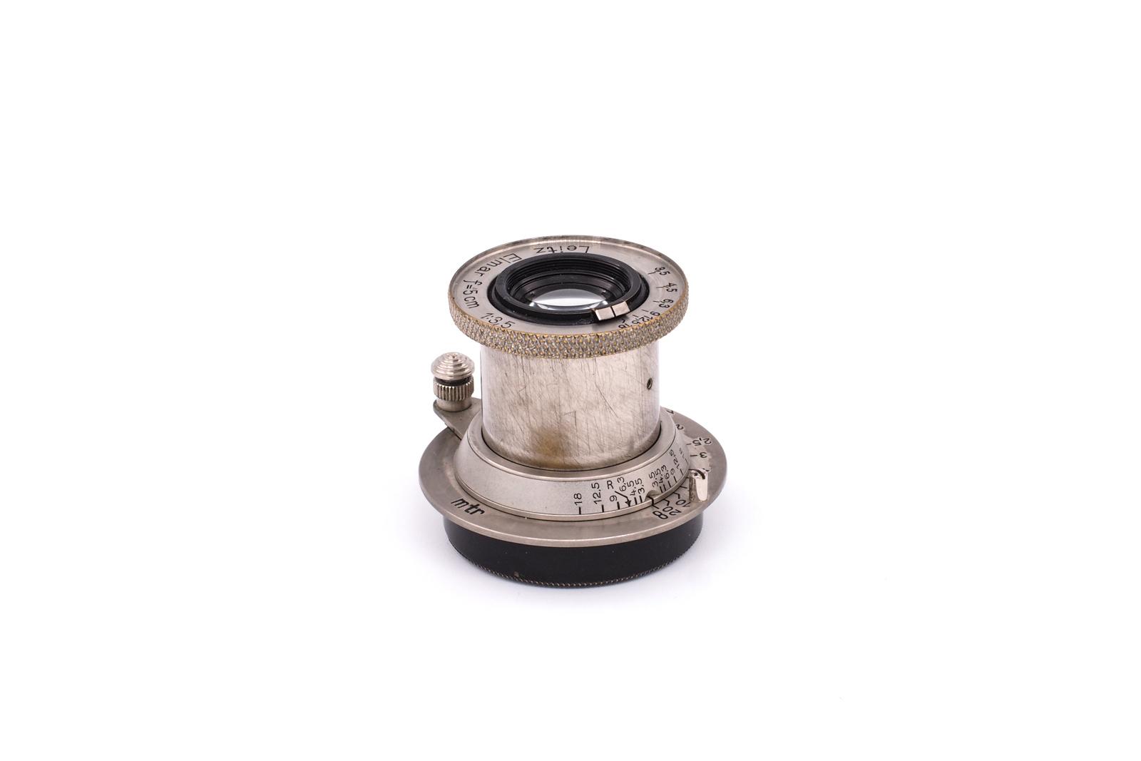 Leitz Elmar 1:3.5/5cm nickel