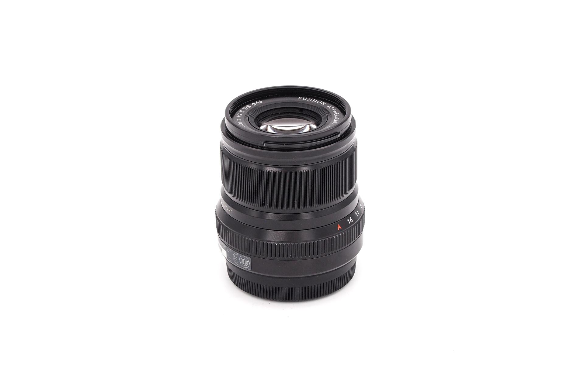 Fujifilm XF 50mm F/2 black